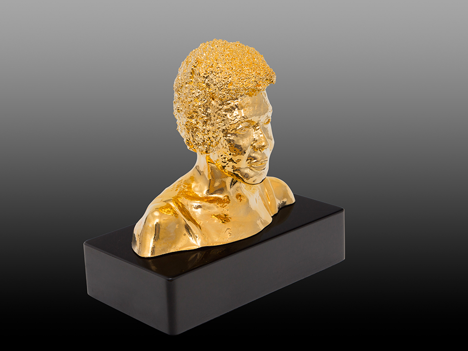 IZABEL LAM 3D SCULPTURE - EVA HALLER BUST 2