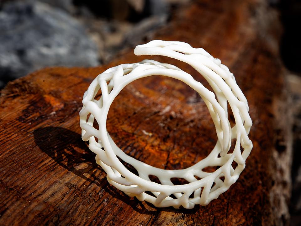 IZABEL LAM CORALLAP BRACELET 3D PRINTED