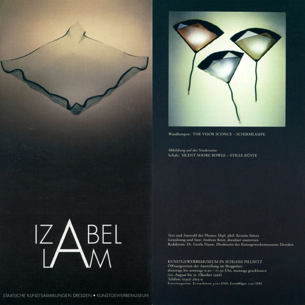 IZABEL LAM ART MUSEUM SHOW DRESDEN GERMANY