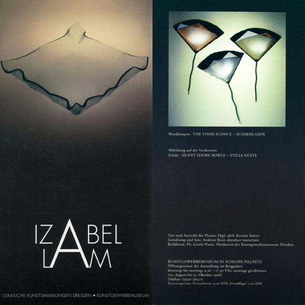 IZABEL LAM ART MUSEUM SHOW DRESDEN GERMANY