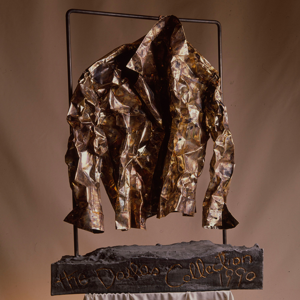 Izabel Lam Brass Levis Jacket Sculpture