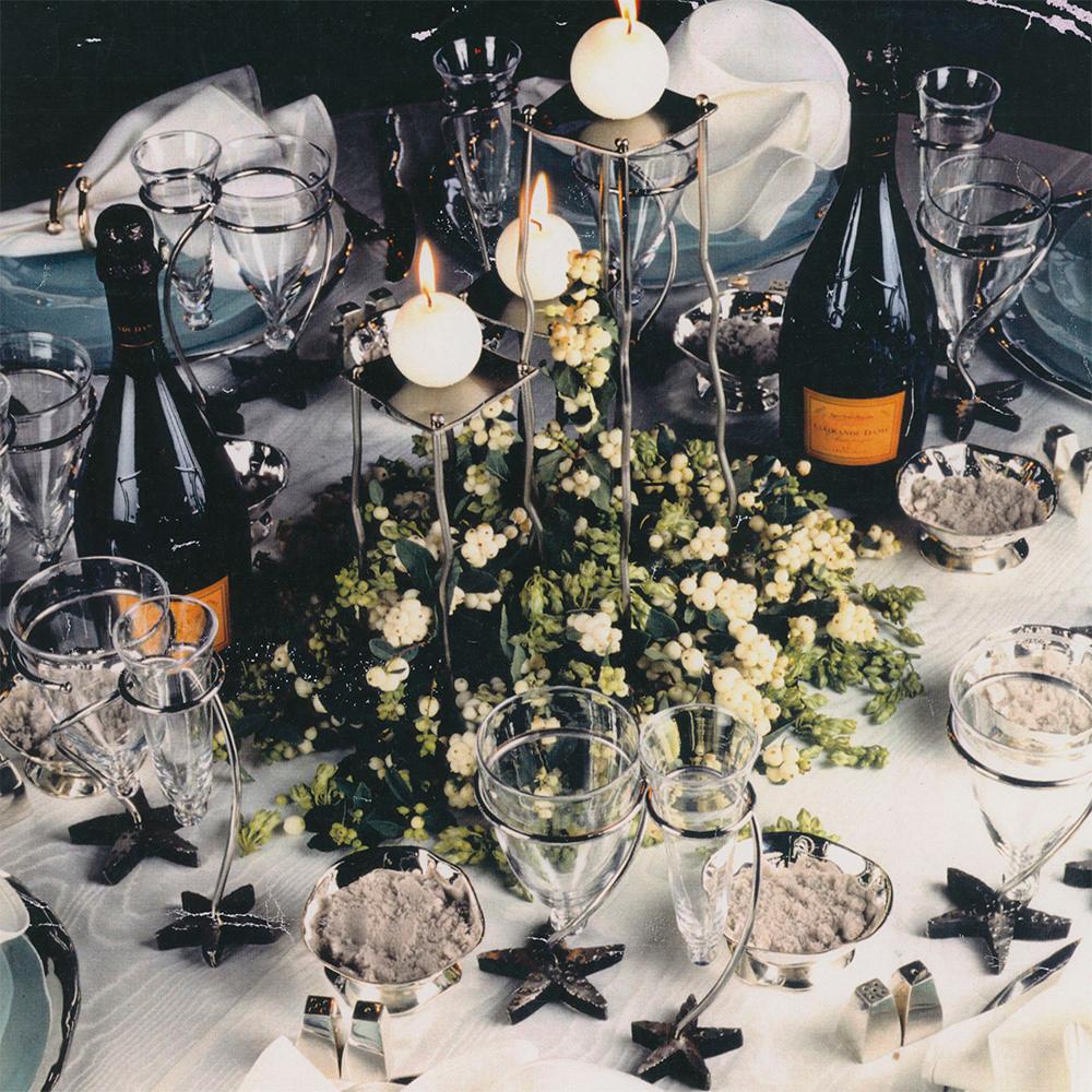 """Izabel Lam designs table setting for  """"Diner Veuve Cliquot des Createurs"""""""